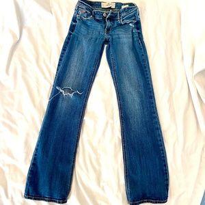 Boot Cut Stretch Denim Jeans (SHORT)